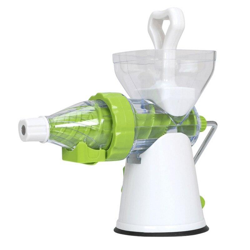 New 2 In 1 Multifunction Manual Soft Ice Cream Maker Manual Fruit Juicer Extractor Blender Lemon Squeezer Citrus Juicer Kitchen