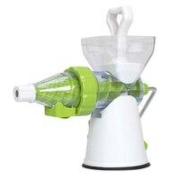 New 2 In 1 Multifunction Manual Soft Ice Cream Maker Manual Fruit Juicer Extractor Blender Lemon