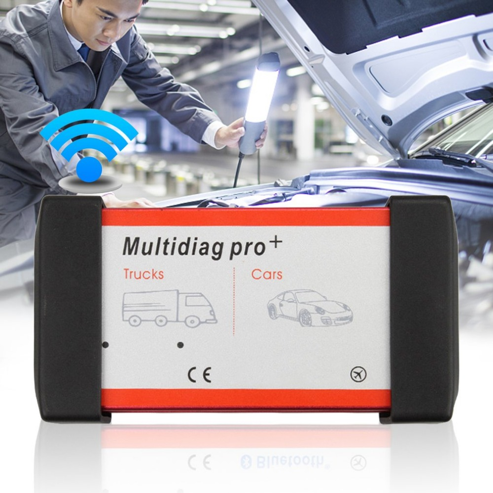 Nouveau professionnel Multidiag Pro + outil de Diagnostic OBD Scanner de Diagnostic ensemble complet équipement de Diagnostic pour voiture véhicule camion