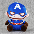 18cm Marvel Avengers stuffed Plush Dolls Iron Man Spider-man Venom Black Widow Hawkeye Wolverine Captain America Toys