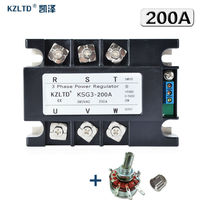KZLTD Three Phase Voltage Regulator Module 200A 4 20MA 0 5V To 380V AC Three Phase