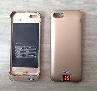 Yourtribe 2200 mAh powerbank batería externa recargable de reserva de batería cargador caso cubrir paquete Baterías portátiles para Apple iPhone 5C 5 5S se