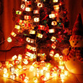 Tailândia Handmade Tecido De Papel Chinês Lanterna Luzes De Natal De Fadas Luzes Cordas Garland Luminaria Luces Navidad Guirlande