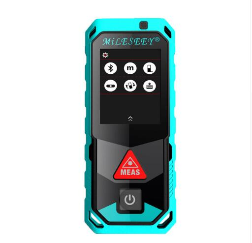 Mileseey T7 40M 60M 100M Bluetooth Laser Rangefinder with Rotary Touch Screen Rechargerable Laser Meter цены