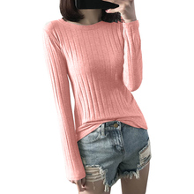 f4f540a521 Basic Ribbed Tops Tees With Thumb Hole Women Long Sleeve Tee Shirts  Essential Layering T Shirt