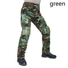 Человек пустыня Тактическая Военная одежда Пейнтбол армейские штаны карго боевые Брюки Мультикам Militar тактические наколенники брюки
