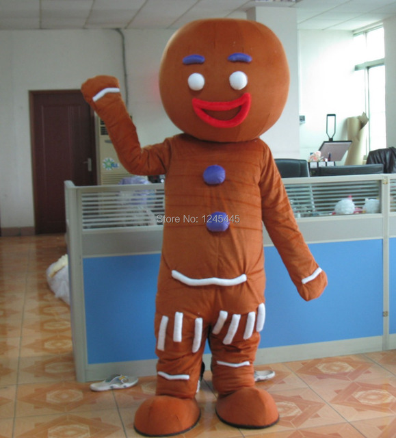 hot sale mascot costume gingerbread man mascot costume & hot sale mascot costume gingerbread man mascot costume-in Mascot ...