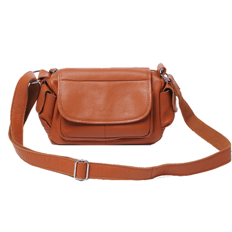 New style fashion genuine leather women messenger bags casual shopping crossbody shoulder bags handbags with dollar price K048 women shoulder bags leather handbags shell crossbody bag brand design small single messenger bolsa tote sweet fashion style