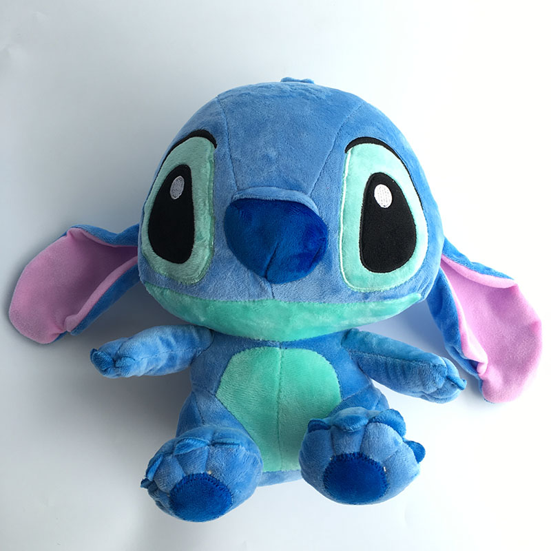 35cm Plush Toys Stitch Stuffed And Soft Animal Toys 1pcs Birthday Gift 2016 free shipping natural handmade acrylic soap seal stamp mold chapter mini diy natural patterns organic glass 4x4cm 0099