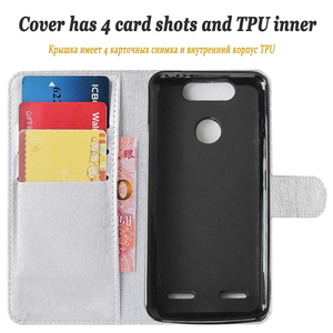 Image 5 - 1Luxury Wallet Leather Cover For ZTE Blade V8 mini ZTE V8 Magnetic Card Holder Flip Case For V8mini ZTE V8 Stand Phone Cases