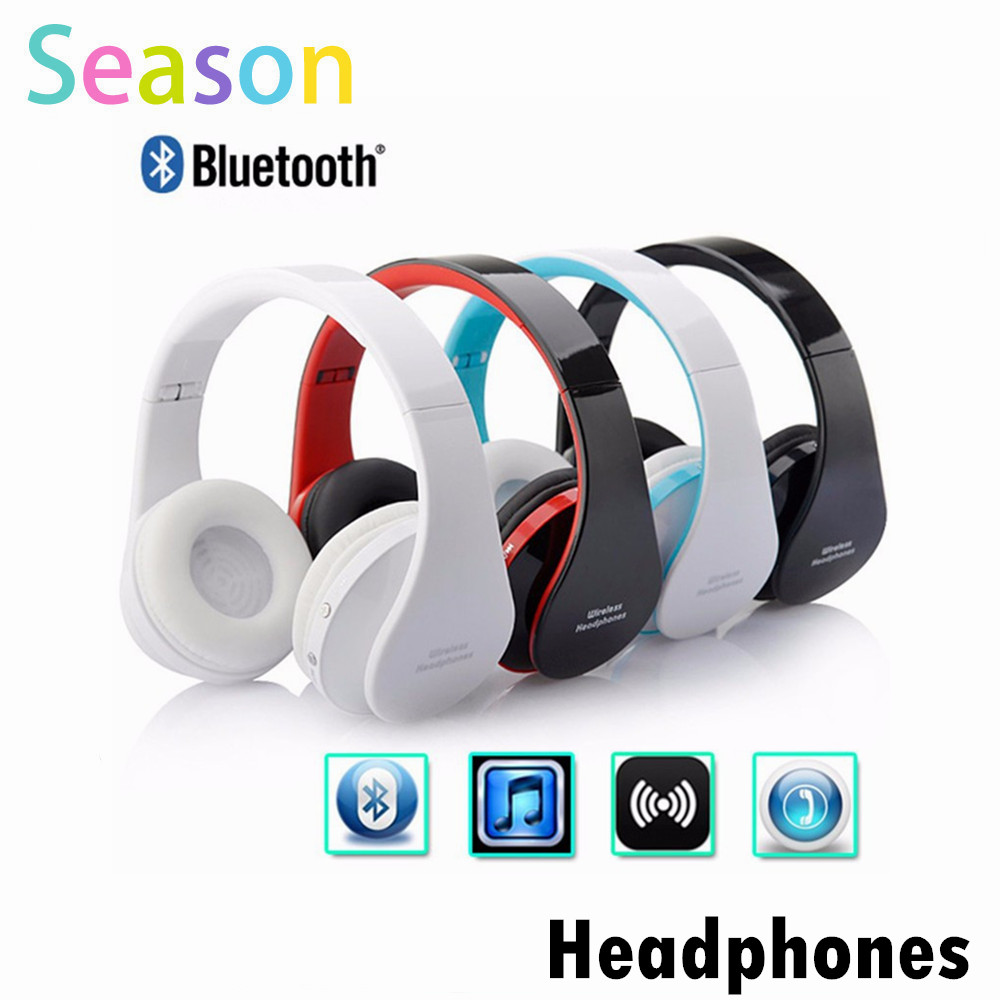Wireless Headphone Auriculares Bluetooth Earphone Earbuds Stereo Foldable Bluetooth Headset Casque font b Audio b font