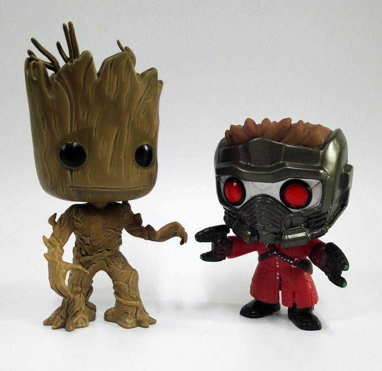 10CM Star Lord Tree man Guardians of the Galaxy Anime Collection Action Figure Model PVC Kids Toys  10cm funko pop guardians of the galaxy groot pvc action anime figure doll shake bobble head groot tree man kids toys