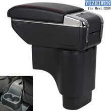For Perodua Myvi Armrest Box Myvi D20N 2017-Present Universal Car Central Armrest Storage Box cup holder ashtray accessories