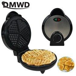 DMWD elektryczna maszyna do gofrów non-stick muffin pancake blacha do pieczenia Hotcakes eggette crepe Pannenkoeken maker na śniadanie ue usa