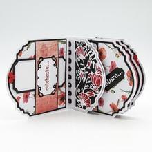 Julyarts troqueles de corte de Metal con flores de encaje, plantilla para álbum de recortes, troqueles de metal nouveau, manualidades de papel, novedad de 2019