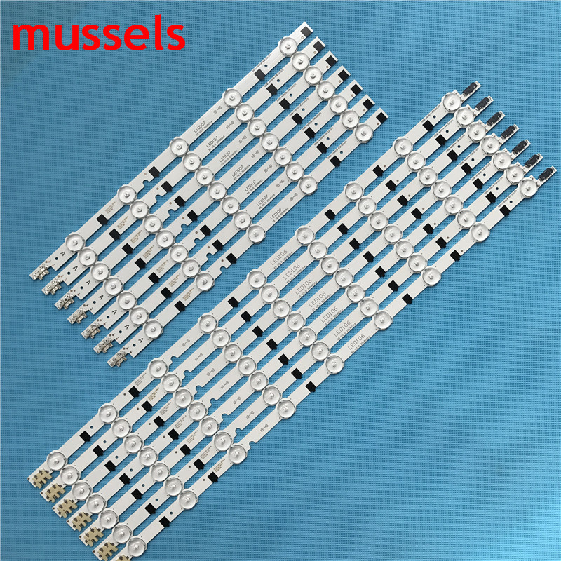 """LED Backlight strip For SamSung 42""""TV 14lamp 880mm D2GE 420SCB R3 D2GE 420SCA R3 2013SVS42F HF420BGA B1 UE42F5500 CY HF420BGAV1H-in Industrial Computer & Accessories from Computer & Office"""