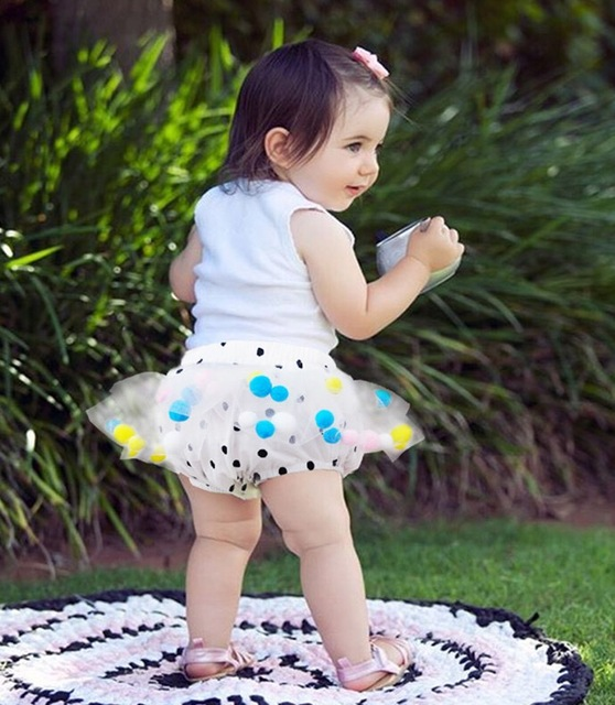 ins* 2016 baby girl cotton pantskirt ball gown kids summer cute tutu skirt children bubble skirts 1-4Y free shipping