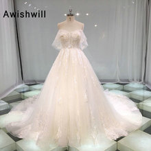 Awishwill Custom Made Vestidos de Noiva Wedding Dress