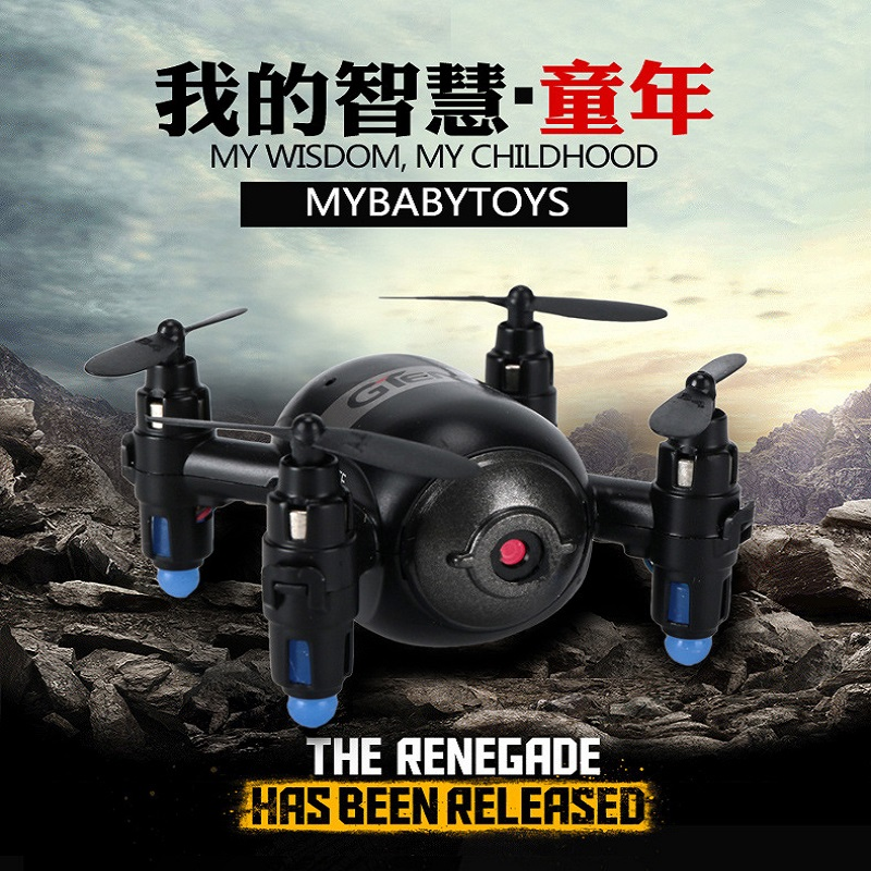 Mini RC Quadcopter WiFi FPV 3D Display <font><b>6</b></font> Axis Gyro remote Control helicopter Mini RC drone Double control mode image