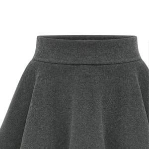 Image 4 - NORMOV kadın kış kalın sıcak tayt yüksek bel elastik katı ince dış giyim pantolon etek M 6XL artı boyutu tayt