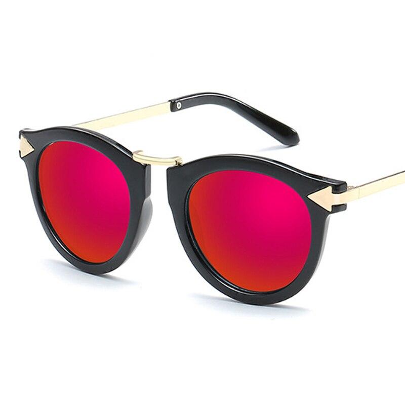 2019 New Beatiful Vintage Cat Eye Female Sunglasses Women Brand Designer Round Pink Sun Glasses Women's Glasses Feminine