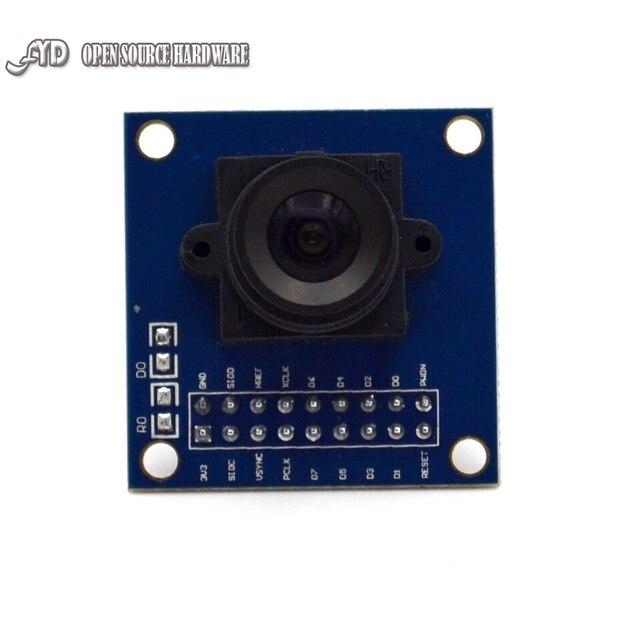 New OV7670 VGA Camera Module Lens CMOS 640X480 SCCB w I2C Interface Auto Exposure Control Display Active