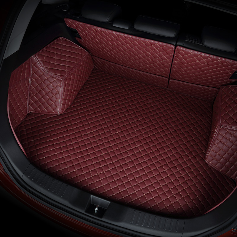 kalaisike custom car trunk mat for jeep All Models renegade compass cherokee patriot wrangler car accessories custom cargo liner