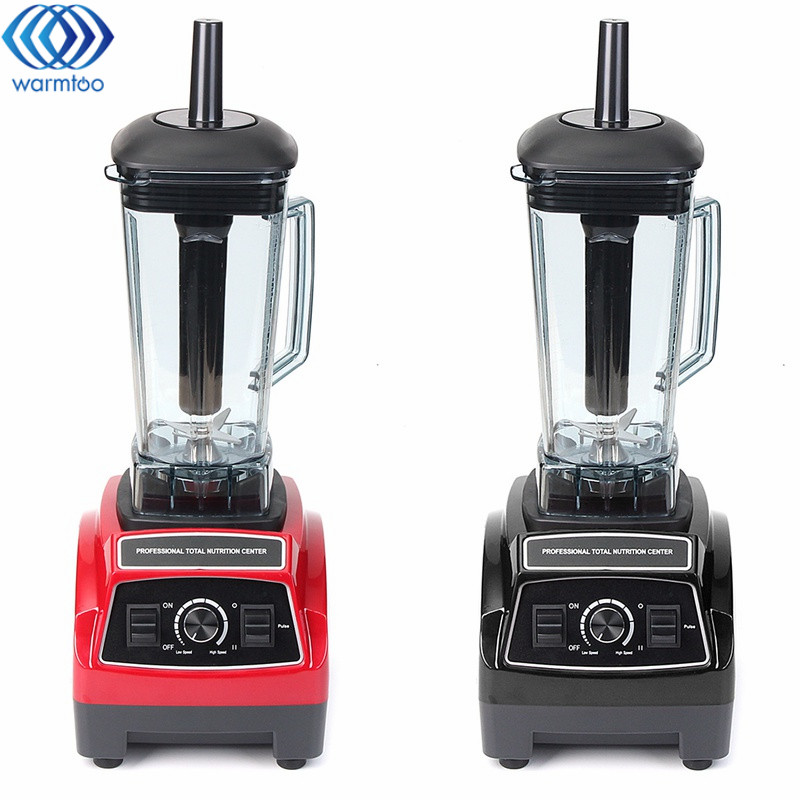 2L Heavy Duty Commercial Grade Juicer Fruit Blender Mixer BPA 3 Speed 2200W Professional Smoothies Food Mixer Fruit Processor xeoleo 2l heavy duty commercial blender food greater material 2000w food processing machine with pc jar juicer mixer bpa free