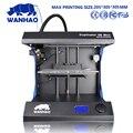 Китайский поставщик Wanhao D5S мини 3D цветной лазерный принтер машина с PLA ABS нить дешевая цена по прейскуранту завода высокое качество