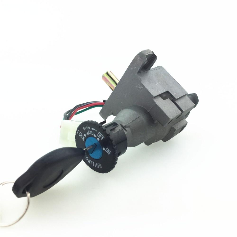 STARPAD For Motorcycle Modified Aluminum Electric Door Lock Scooter Electric Door Lock