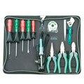 Набор инструментов для ремонта дома 13 комплектов общего бытового инструмента отвертка 1PK-636B-1