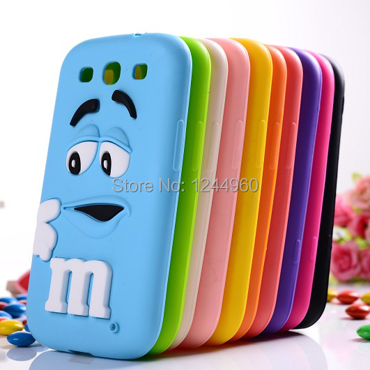 buy popular 1acc4 258dc US $6.87 |For Samsung Galaxy S3 Cases M&M's Chocolate Candy Rubber Silicone  Cartoon Cell Phone Case Covers For Galaxy S3 i9300 on Aliexpress.com | ...