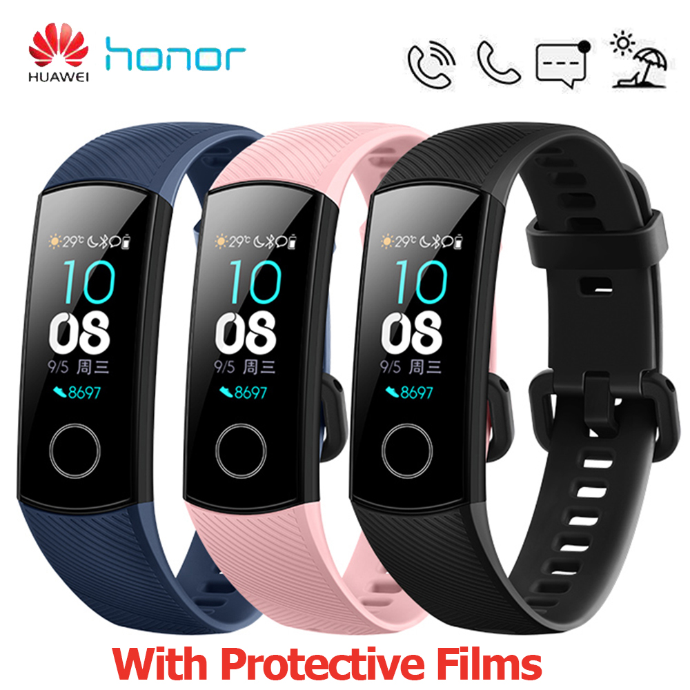 HUAWEI Honor Band 4 Smart Bracelet 0 95 TouchScreen Smart Wristbands 5ATM Waterproof Swimming Posture Detect