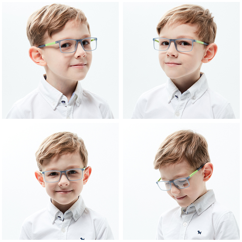 Kids Prescription Glasses Tr90 Children Eyeglasses Flexible Eyewear Myopia Reading Astigmatism Eyeglasses Photochromic Glasses (9)