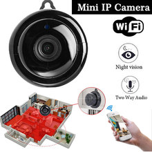 2.8mm Wireless Mini Camera HD IR Night Vision Wifi Cam Support Mobile View Motion Detector Micro Camera Camcorders Baby Monitor