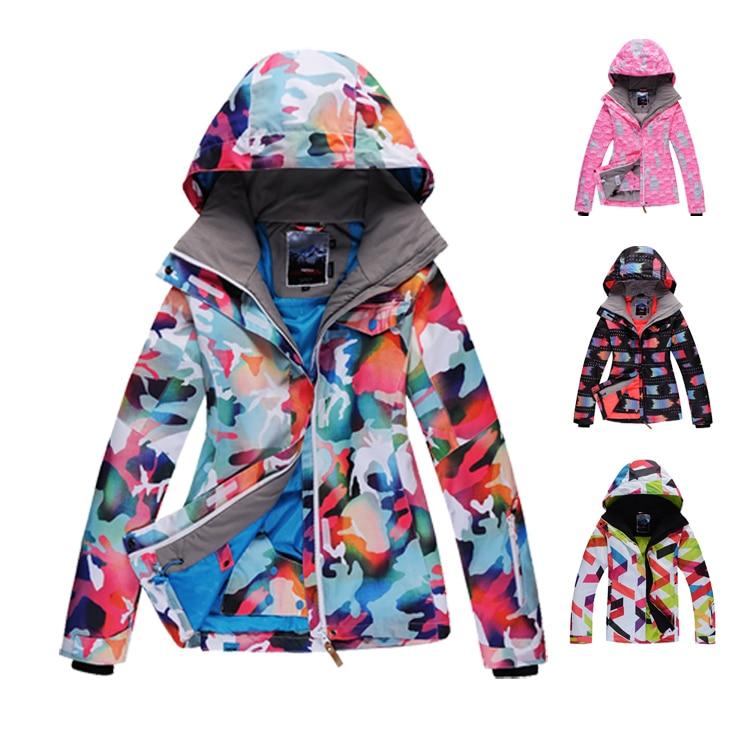 Здесь продается  free shipping Gsou Snow 2015 ski suit women ski jacket outdoor snowboard skiing winter dresses winter jacket ski suit women  Спорт и развлечения