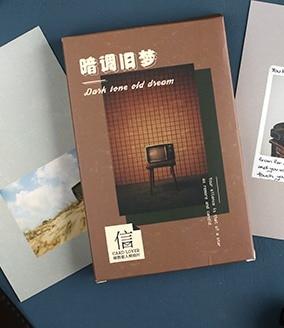 14.3cm*9.3cm Dark Dream Paper Postcard(1pack=30pieces)