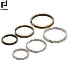 BASEHOME 50 шт./лот 16 мм/20 мм/25 мм брелок круглый брелок подходит для DIY брелок кольца круги аксессуары