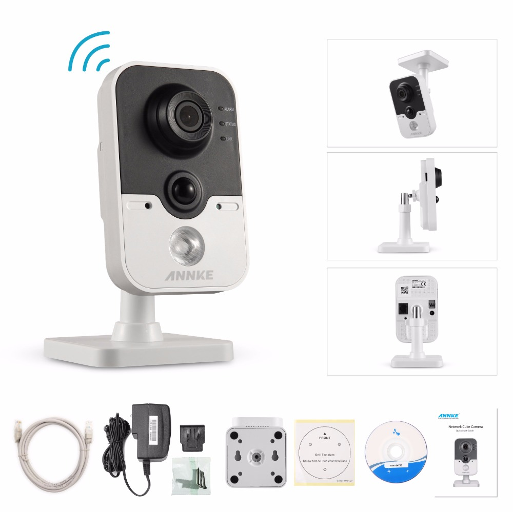 ANNKE Full HD 1080P Wireless IP Camera 2.0MP CCTV Survillance WiFi Camera 1080P Security Baby Monitor with two way Audio