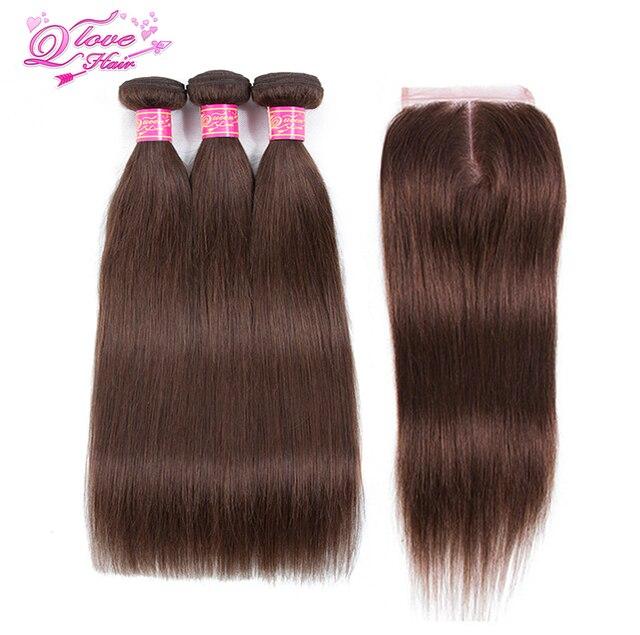 Queen Love Hair Pre Colored Brazilian Hair Straight 100 Human Hair