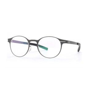 Image 4 - Wysokiej jakości unikalna konstrukcja IC markowe okulary rama mężczyźni i kobiety ultralekkie ultracienkie oprawki do okularów okulary na receptę