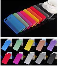1PC Ultra Thin 0 3MM Cover Bag Case For Apple Iphone 5 5s 6 6s 7