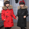 2016 New Girls Boys Winter Coats Jacket Children Down Outerwear Warm Thick Outdoor Kids Fur Collar Snow Proof Coat Parkas