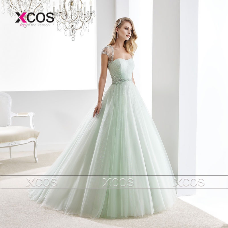 Popular Green Wedding Dresses-Buy Cheap Green Wedding Dresses lots ...