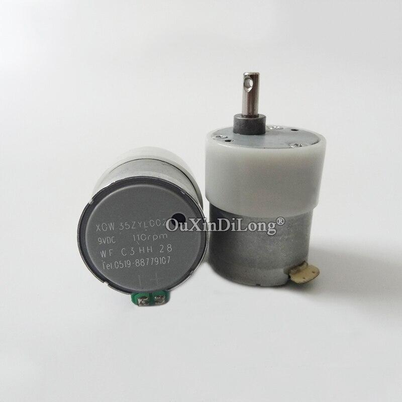 Nuevo 2PCS / lot 35ZYL002 9V DC, motor de engranaje de 110 RPM - Accesorios para herramientas eléctricas - foto 3