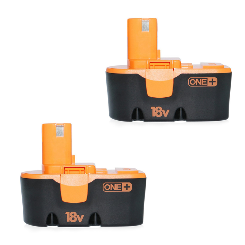 US Shipping! 2pcs Rechargeable NiMH Battery For Power Tool 18V 3.0Ah ABP1801 Electric Power tool accessories 1314702 1400656 1400671 130224010 battery for ryobi 14 4v ni cd 2 0ah rechargeable power tool battery t40
