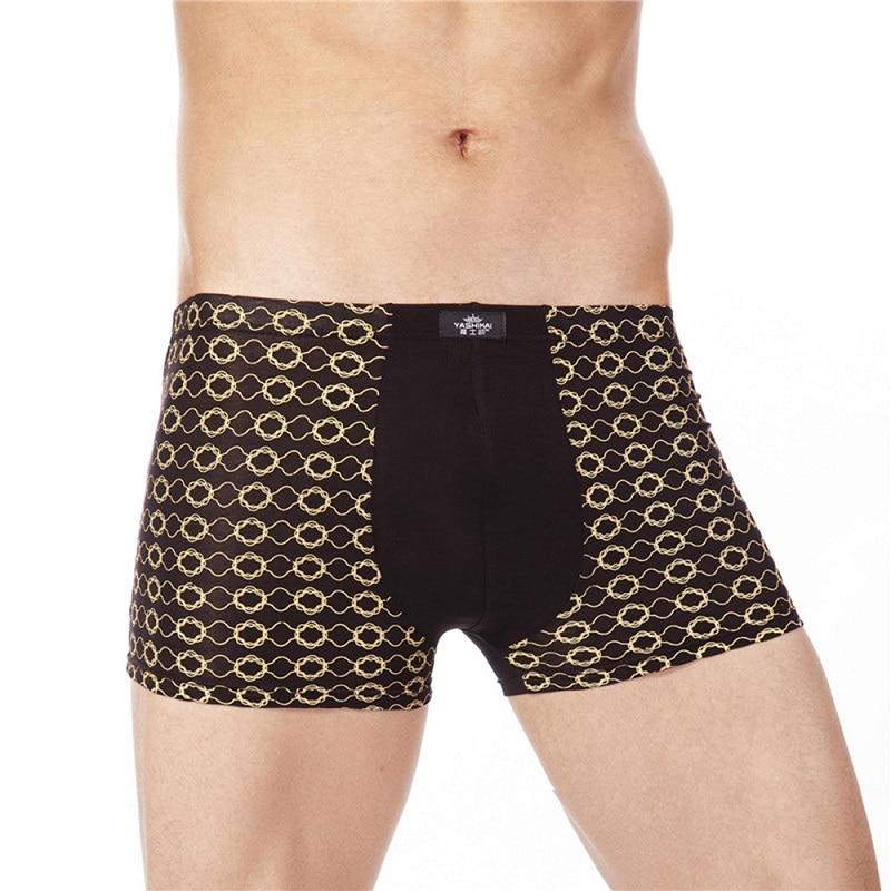 18 Цвет 7XL Мода Мужчины Underwear Боксеры Качество   Мужчины Underwear Известный Бренд Хлопок Боксеры Трусики Мужские Шорты Горячей Продажи