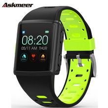 ASKMEER M3 Smart Wristband Color Screen Touchscreen smart bracelet Sport Tracker watch heart rate monitor band