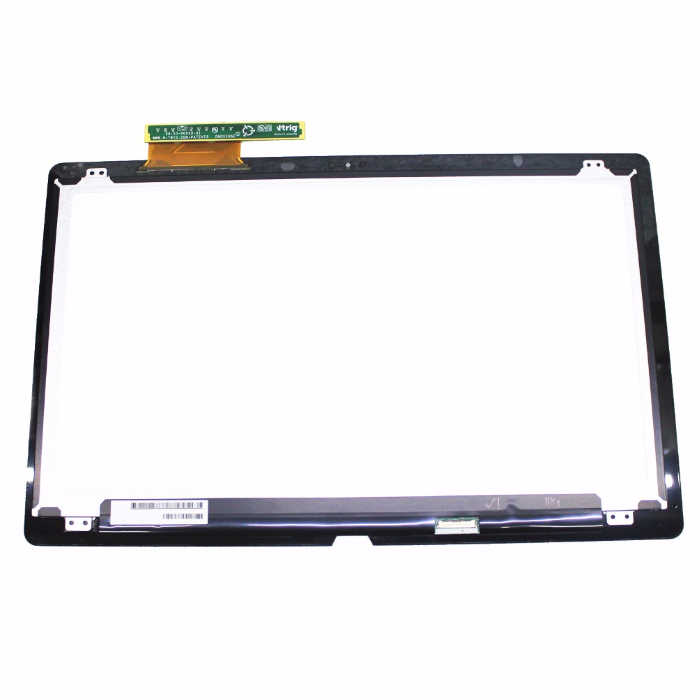 15.5 LCD Display Touch Digitizer Screen Assembly For Sony Vaio SVF15N Series SVF15N27SCS SVF15N17CXB SVF15N1C5E SVF15N26CXB new 11 6 for sony vaio pro 11 touch screen digitizer assembly lcd vvx11f009g10g00 1920 1080