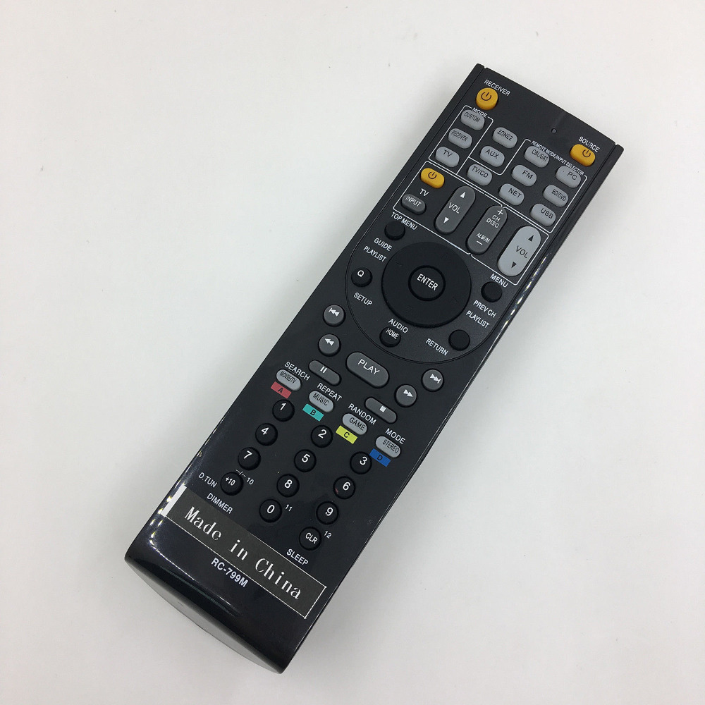 NEW AV Receiver Remote Control For ONKYO HT-S3300 TX-NR807 TX-NR1007 TX-NR3007 видеорегистратор artway av 711 av 711